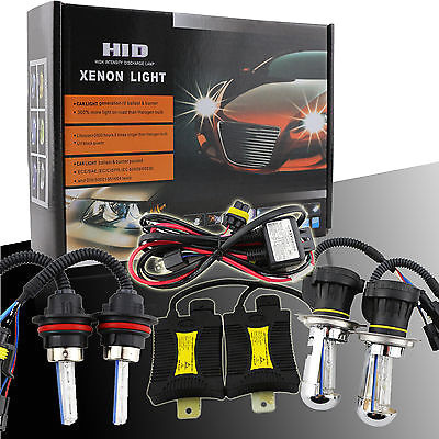 9004 5000K Xenon HID OEM Low Beam HeadLights//Bulbs For Chevy//JEEP//Nissan YR