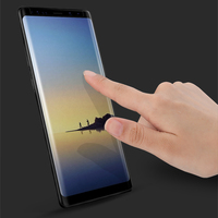 For Samsung Galaxy Note 8 3D Curved Tempered Glass Film Tempered Full Screen Protective For Galaxy