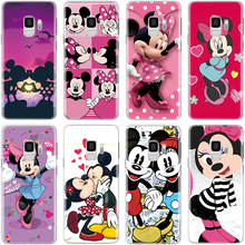 TPU Fundas For Coque Samsung Galaxy J3 J5 J7 A3 A5 2016 2017 J4 J6 A6 A7 A8 2018 Note 8 9 S8 S9 S10 Plus A50 Cartoon Lovely Case(China)
