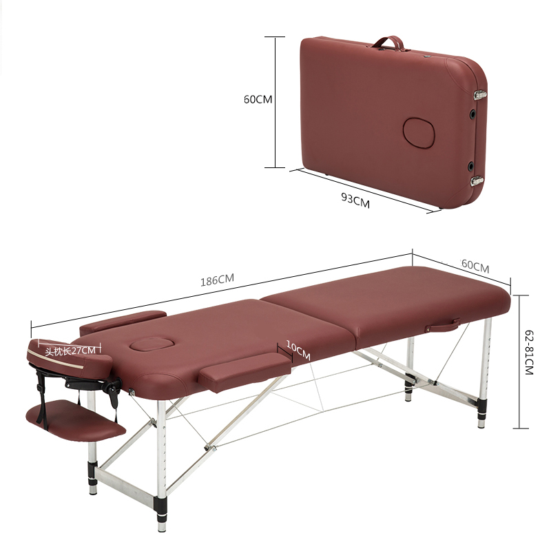 Folding Beauty Bed   Professional Portable Spa Massage Tables 1