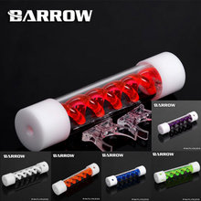 Barrow TLYK 255 Multi colored Virus T Cylinder Water Reservoir , Water Cooling tank, come with UV/White lighting