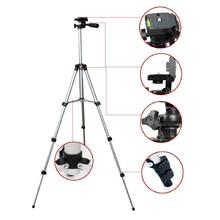 ¡ Nuevo! profesional mini Trípode de cámara flexible de 4 secciones trípode portátil para Cámara Proyector teléfono móvil con soporte para teléfono