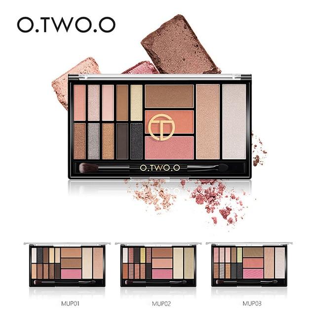 Eye Makeup Waterproof Eye Shadow Palette Highlighter Glitter Blush