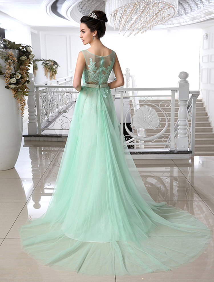 Mint green lace wedding dress images for Mint green wedding dress