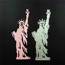 Statue of Liberty Metal Cutting Dies For Scrapbooking Stencils DIY Album Paper Cards Decoration Embossing Folder Die Cutter