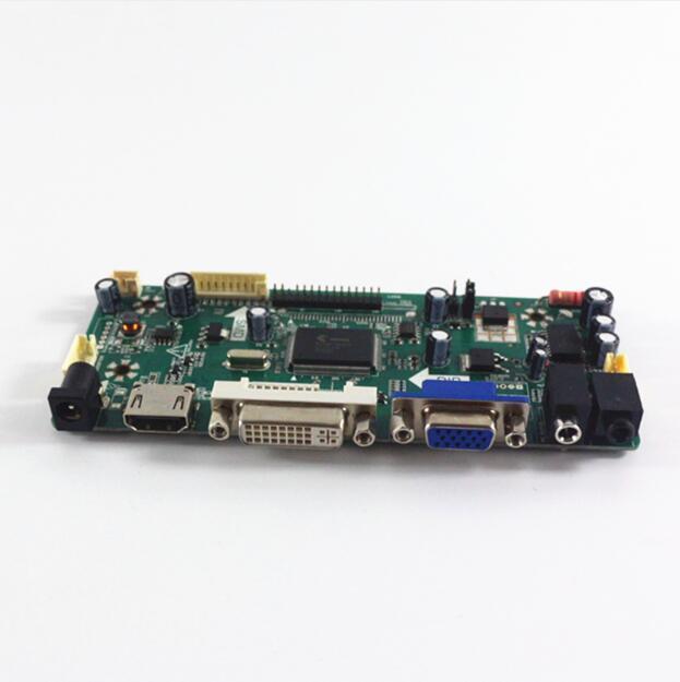 HDMI-DVI-VGA-AUDIO de carte de contrôleur daffichage à cristaux liquides adapté aux QD15TL07 Rev.01/QD15TL07 Rev.02/QD15TL07 Rev.03/QD15TL09 Rev.01