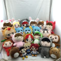 [SGDOLL] Korea Fashion Kpop EXO Superstar Baek Hyun Chan Yeol Kai Se Hun Su Ho D.O  Luhan Chen Cartoon Plush Toy Stuffed Dolls