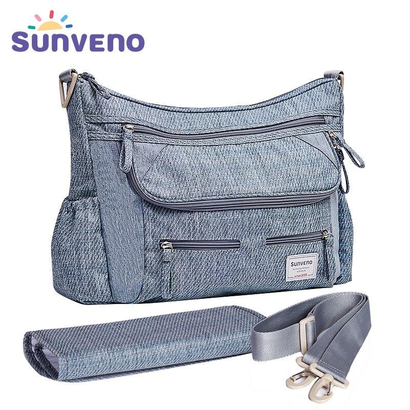 SUNVENO Новый пеленки сумка для беременных коляска сумка большой Ёмкость многофункциональный детская сумка-органайзер хранения с пеленания