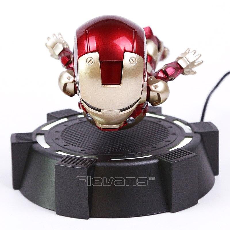 IRON MAN MK MAGNÉTIQUE FLOTTANT ver. Avec LED Iron Man Action Figure Collection Jouet 3 Couleurs