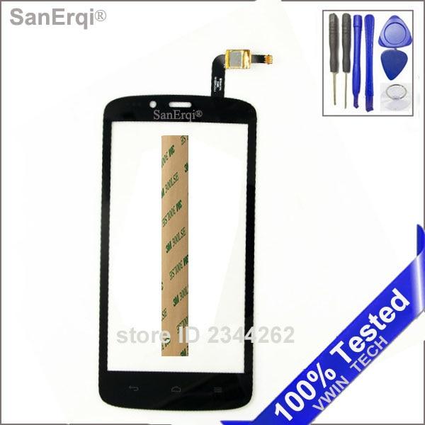 Pour huawei Honor Houx 3G 3C Jouer Hol-U19 Hol-T00 HOL-U10 HOL U19 écran tactile capteur digitizer Écran Tactile Livraison 3 M Bande outils