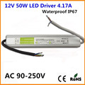 DC 12V 50W IP67 Waterproof LED Adapter Driver Transformer LED Power Supply for LED Garden Landscape Lamp Strip Light