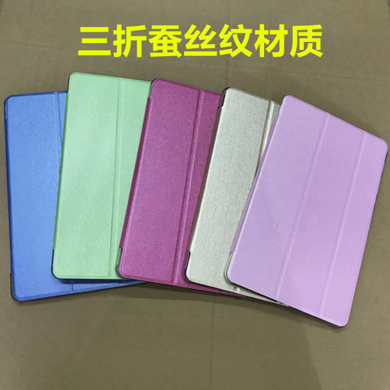 Slim Silk Lightweight Stand PU Leather Coque Cover Funda Case For Huawei Mediapad T5 10 AGS2-W09/L09/L03/W19 + Film + Pen