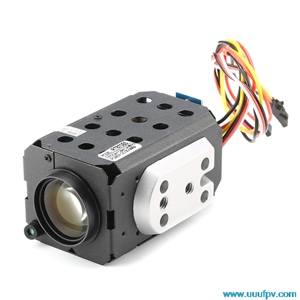 FPV 36X Zoom Camera 700TTL CCD PAL / NTSC 1/4 Sony Optical Camera For 1.2G / 2.4G / 5.8G Telemetry for RC