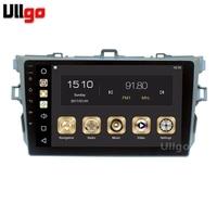 9'' 4G+32G Android 8.0 Car DVD GPS for Toyota Corolla 2006 2011 Autoradio GPS Car Head Unit with Radio RDS BT Mirrior Link Wifi