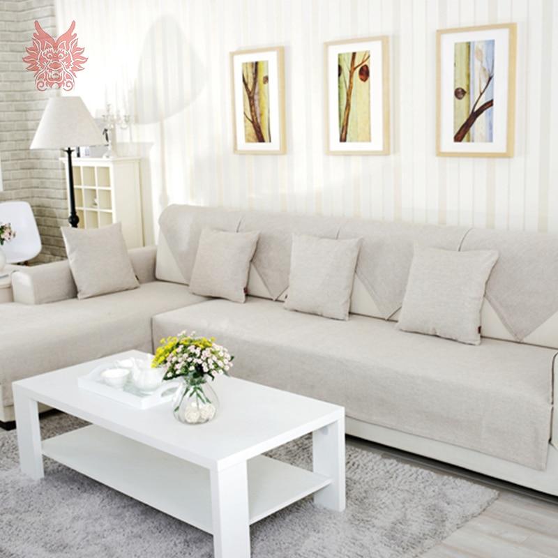 Online get cheap beige sectional sofa - Fundas para sofas modernas ...