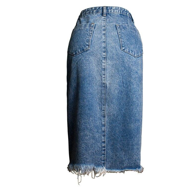 Skirt of female skirt hairline furl furl to wrap hip bull-puncher skirt irregular tassel tall waist skirt of halter MIDI skirt (19)