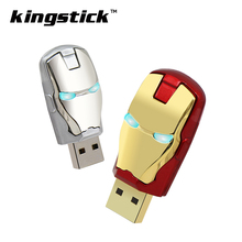 Fashion Avengers USB Flash Drive Iron Man pendrive Pen Drive 128GB Memory Stick Drives 64GB 32GB 16GB 8GB 4GB Pendrive