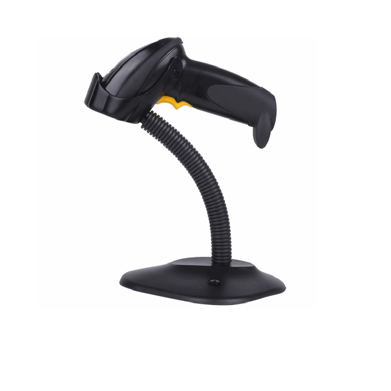 A9000 high quality automatic barcode scanner laser barcode reader high speed bar code gun for DHL express supermarket store usb laser barcode scanner automatic bar code scan reader with stand handheld computer office electronics scanners high quality