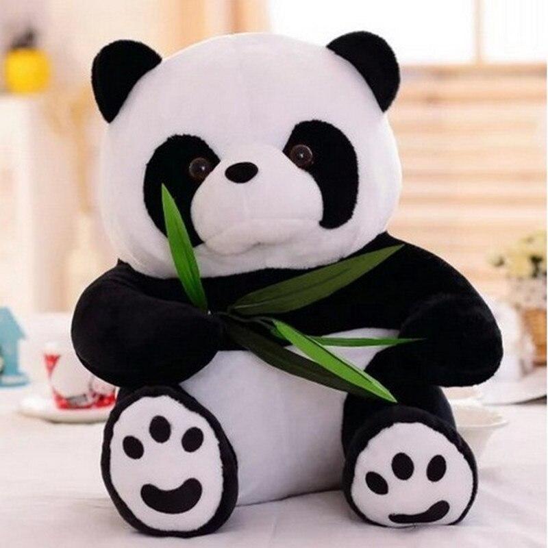 Panda En Peluche Jouet De Nombreux Taille Panda Poupée 16 cm 20 cm 25 cm 30 cm 50 cm Taille Cadeau De Noël