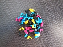 Wholesale 100pcs DIY CISS Color rubber stopper , Cartridge Flug for kits Accessories