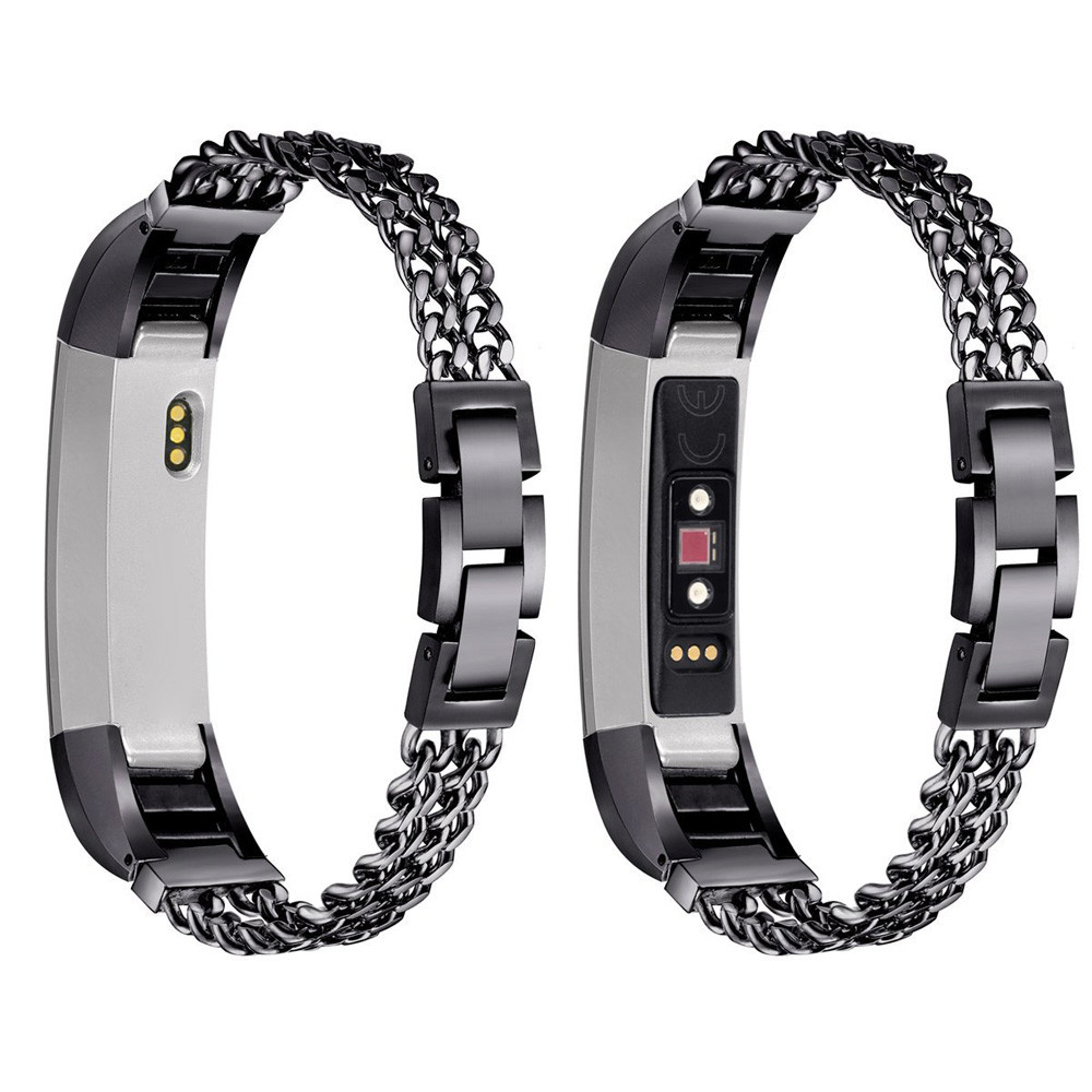 Susenstone 2018 Watchband Stainless Steel Bracelet For Watch Strap For Fitbit Alta Hr/Fitbit Alta L Correa Reloj High Quality lnop nylon rope survival strap for fitbit alta alta hr replacement band bracelet wristband watchband strap for fitbit alta
