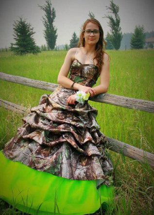 Green Camo Prom Dresses – fashion dresses