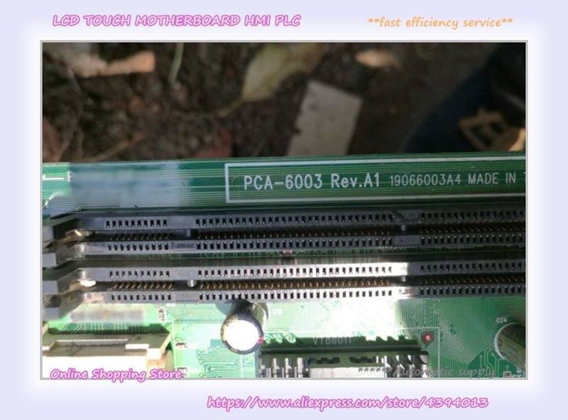 For Industrial Control Board PCA-6003 Rev.A1 PCA-6003VE pca 6003 pca 6003ve a2 industrial motherboard tested good board with fan cpu and ram