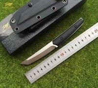 NIGHTHAWK Matar VG-10 lâmina G10 lidar com faca de caça tático faca de lâmina fixa KYDEX Bainha de sobrevivência de acampamento ao ar livre ferramentas EDC facas