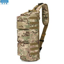 ONWARDS Outdoor Tactical Single-shoulder CP Camouflage Back Packs Military Mens Molle Messenger Bags Sports Waterproof Bolsas
