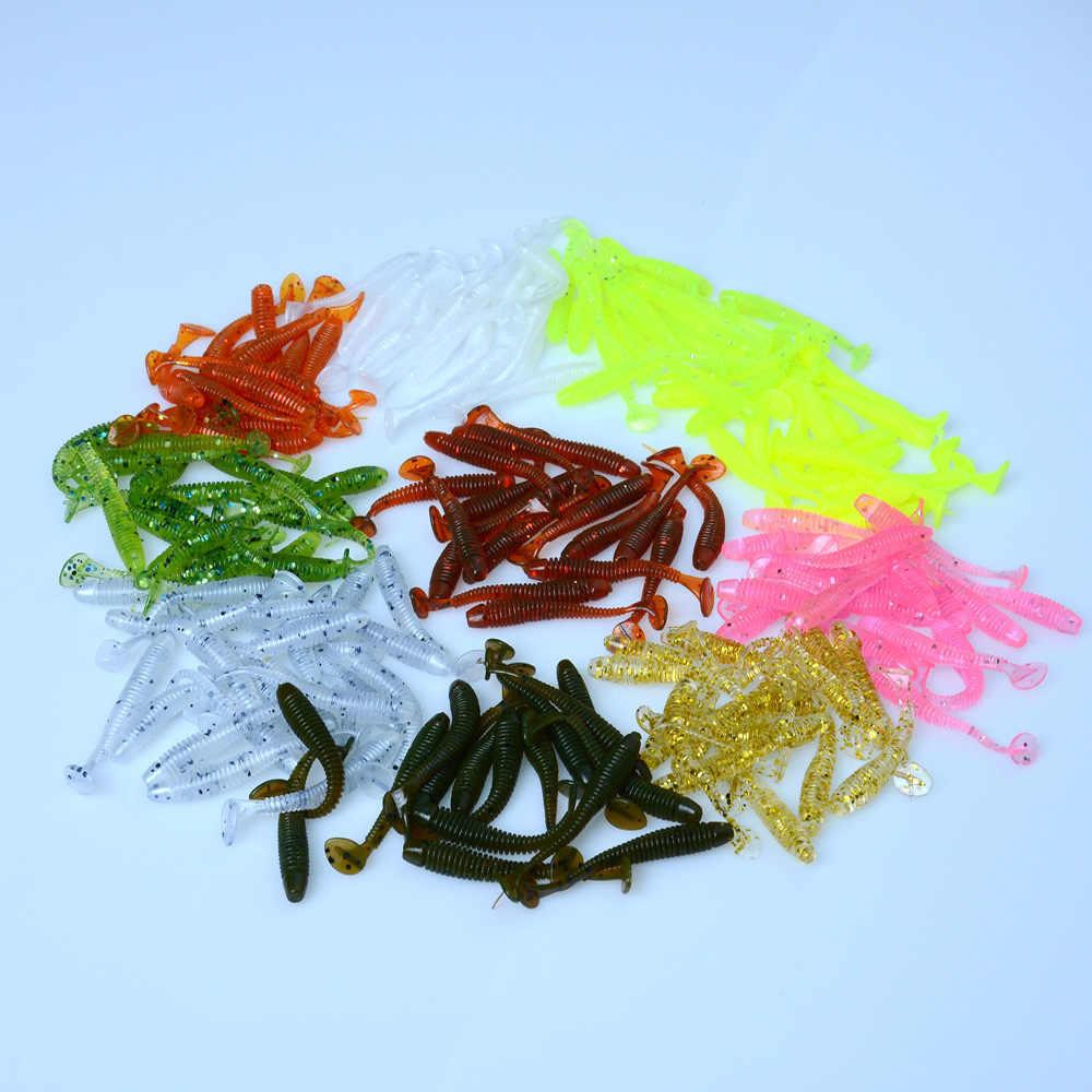 Дропшиппинг Awaruna рыболовные приманки 4,5 см 0,6 г искусственные приманки воблеры мягкие приманки Shad Карп Силиконовые Мягкие наживки для рыбы снасти