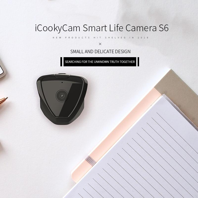 S6 Mini Home Security IP Camera Wi-Fi Wireless Network Camera Surveillance Wifi Night Vision Baby Monitor Motion Alarm Camera