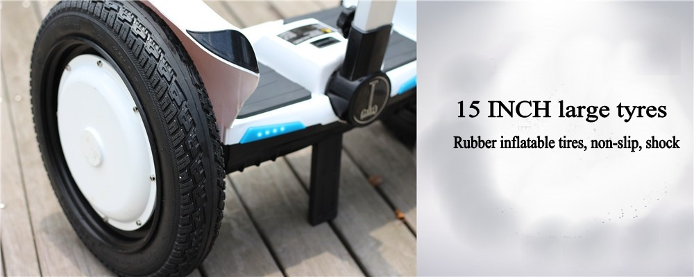 15 Inch SUV A6 Mars Rover handrail electric standing smart self balance scooter skateboard China hoverboard