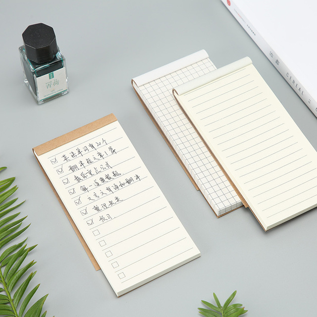 compact stationery to do list notepad tearable notebook portable