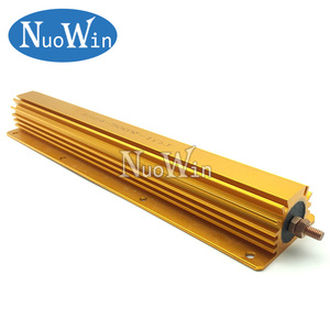 Image 2 - 500W Aluminum Power Metal Shell Case Wirewound Resistor 0.1R ~ 500R 0.1 0.5 1 2 4 5 8 10 50 100 500 ohm