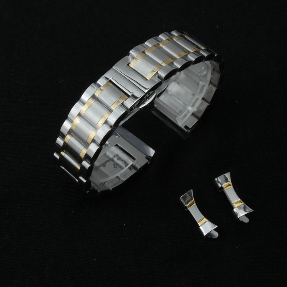 14mm 15mm 16mm 18mm 19mm 20mm 21mm 22mm Watch band Bracelets curved ends silver gold quality stainless steel watches Accessories 8 10 12 14 16mm 18mm 20mm 22mm 24mm black silver gold rose gold ultra thin stainless steel milan mesh strap bracelets watch band