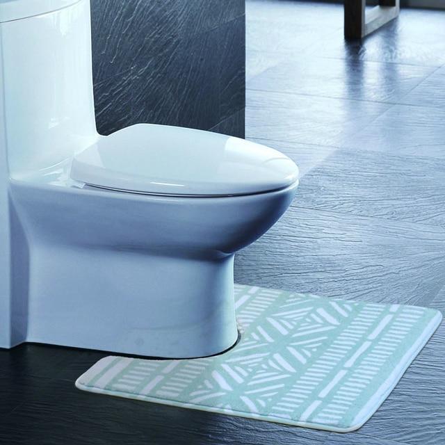 U Förmigen Badewanne Matten Weiche Streicheleinheiten Anti Schlupf  Startseite Bad Teppich Dekoration Bad Wc Geometrische