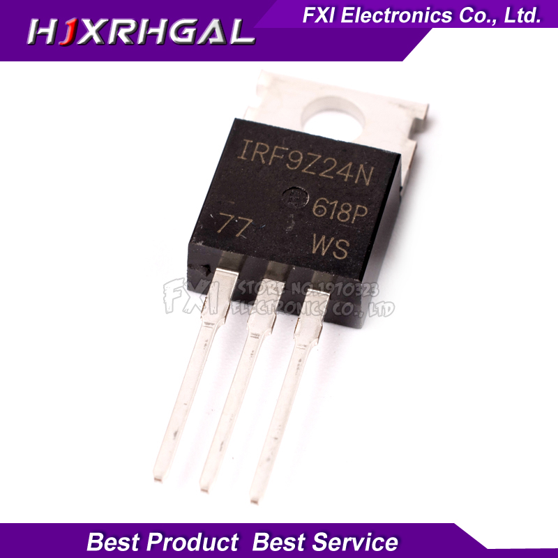 10PCS IRF9Z24N IRF9Z24NPBF TO220 TO 220 IRF9Z24 New original-in Integrated Circuits from Electronic Components & Supplies