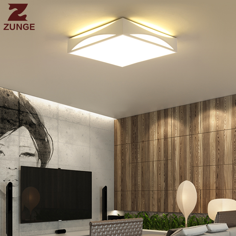 ZUNGE creative LED ceiling lamp bedroom simple modern living room light P341 study lamp led restaurant zunge led ceiling lights children s room cartoon creative five pointed star cute boy and girl bedroom p592 study room iron lamp