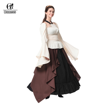 ROLECOS New Arrival Gothic Medieval Renaissance Women Costumes Victorian Ball Gown Long Dresses Retro Party Costumes GC309 1
