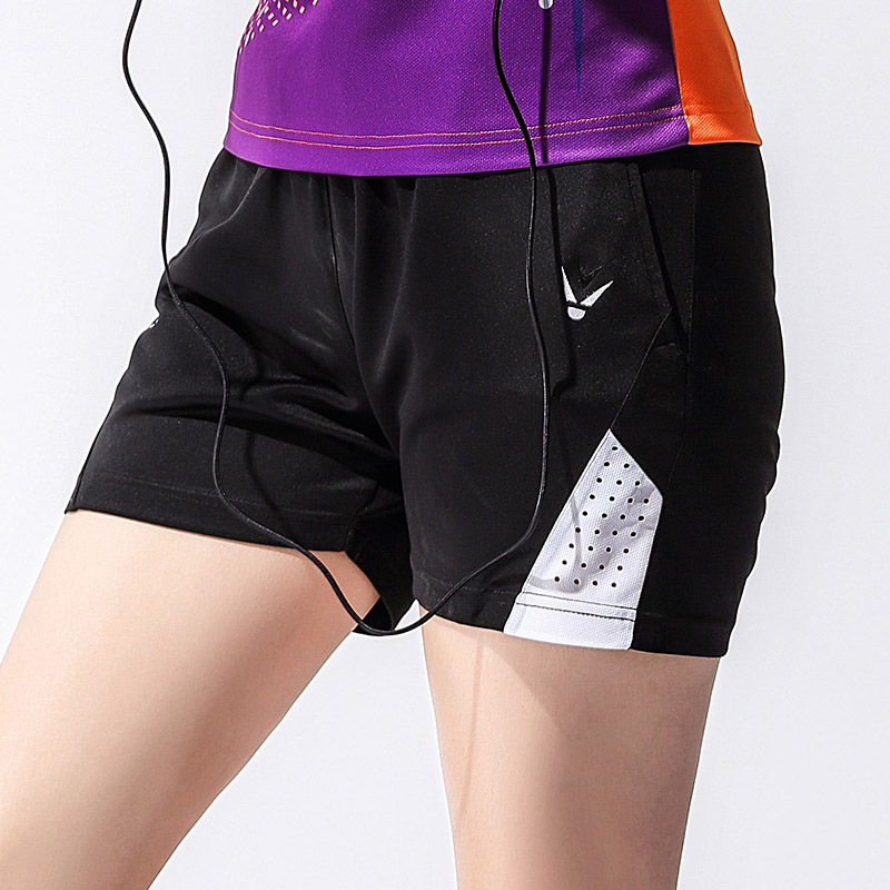 New summer sweat-absorbent and quick-drying table tennis badminton shorts men's shorts women's tennis shorts free shipping