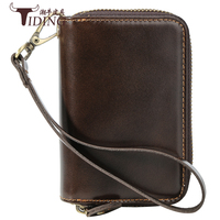 Key Wallet Bag Man Cow Leather 2019 New Key Wallets For Men Genuine Leather Brand Clutch Bags