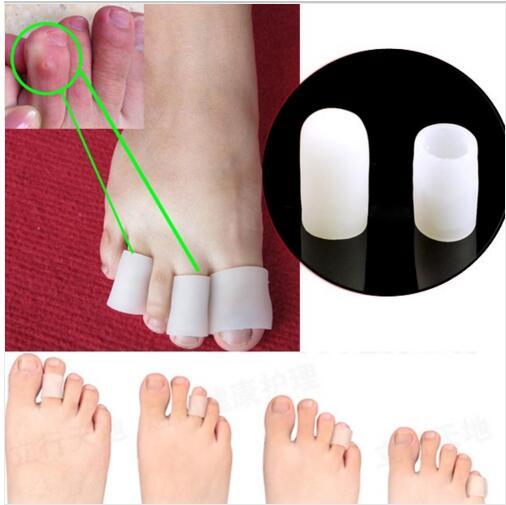 5 Pairs 10 pcs Toe Gel de Silicone protetor de Tubo De Gel de Silicone  Almofada de Alívio Da Dor de Calos calos pés cuidados com os Pés cuidados  com o ... 8ecbd01d78159