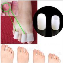5Pairs/10pcs Silicone Gel Toe protector Tube Cushion Corns Calluses Pain Relief feet care Feet Care Product