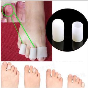 5Pairs/10pcs Silicone Gel Toe protector Silicone Gel Tube Cushion Corns Calluses Pain Relief feet care Feet Care Product
