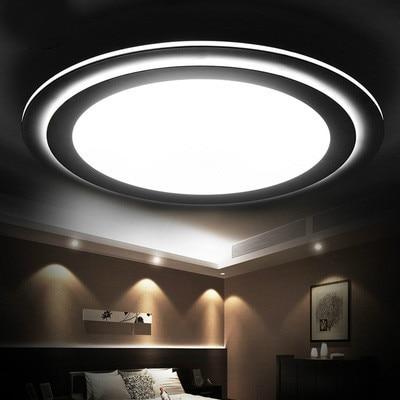 Surface Mount Modern LED Ceiling Lights 220V/110V Living Room Ceiling Lamps  Contemporary Bedroom Lamp