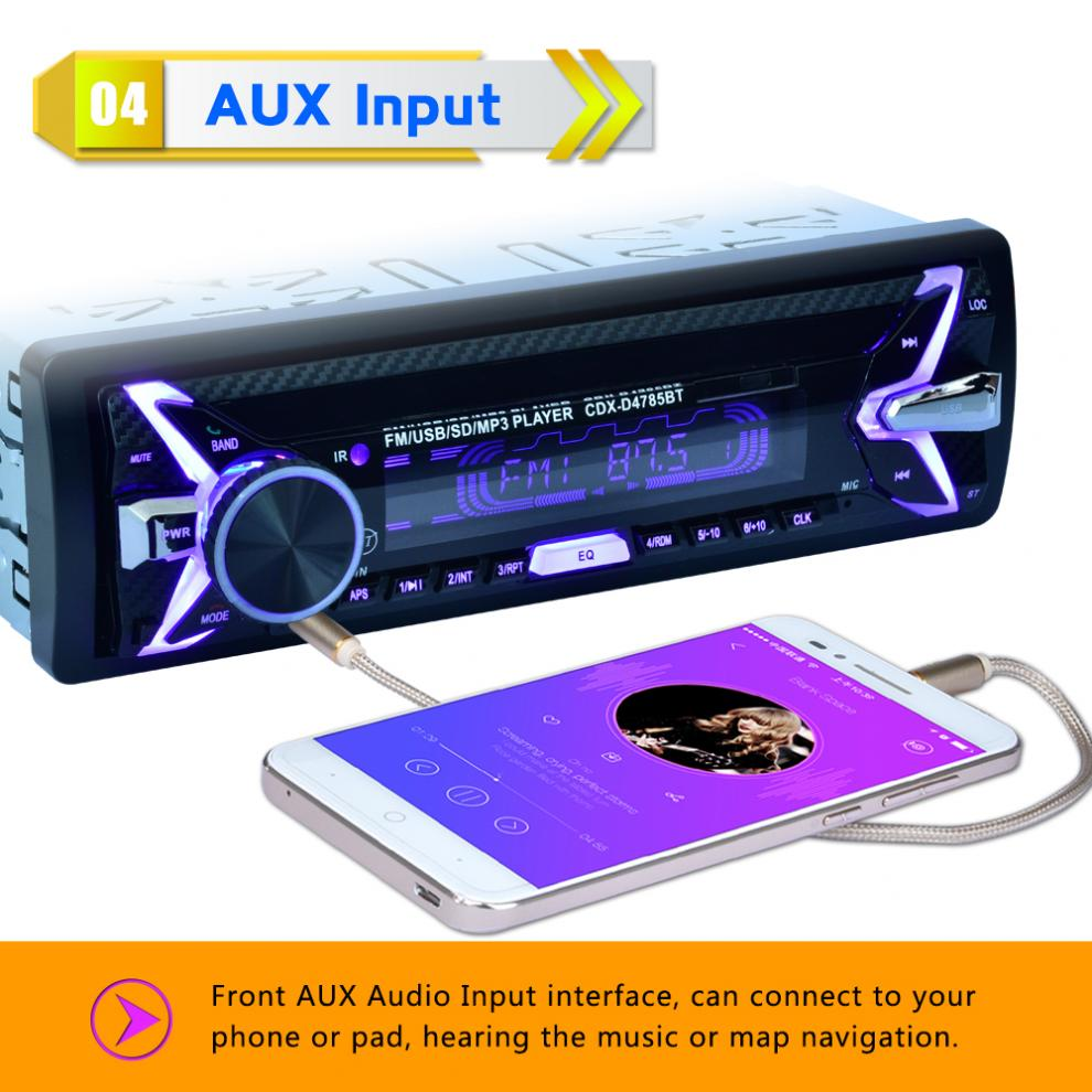SD/FM/AUX/USB Audio pannello Per 5