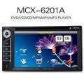 2 Din Dvd-плеер Автомобиля 6.2 дюймов С Сенсорным Экраном DVD VCD CD видео Mini SD USB Bluetooth 2Din Игрок Автомобиля MP5 Аудио С Пультом Дистанционного Управления управления