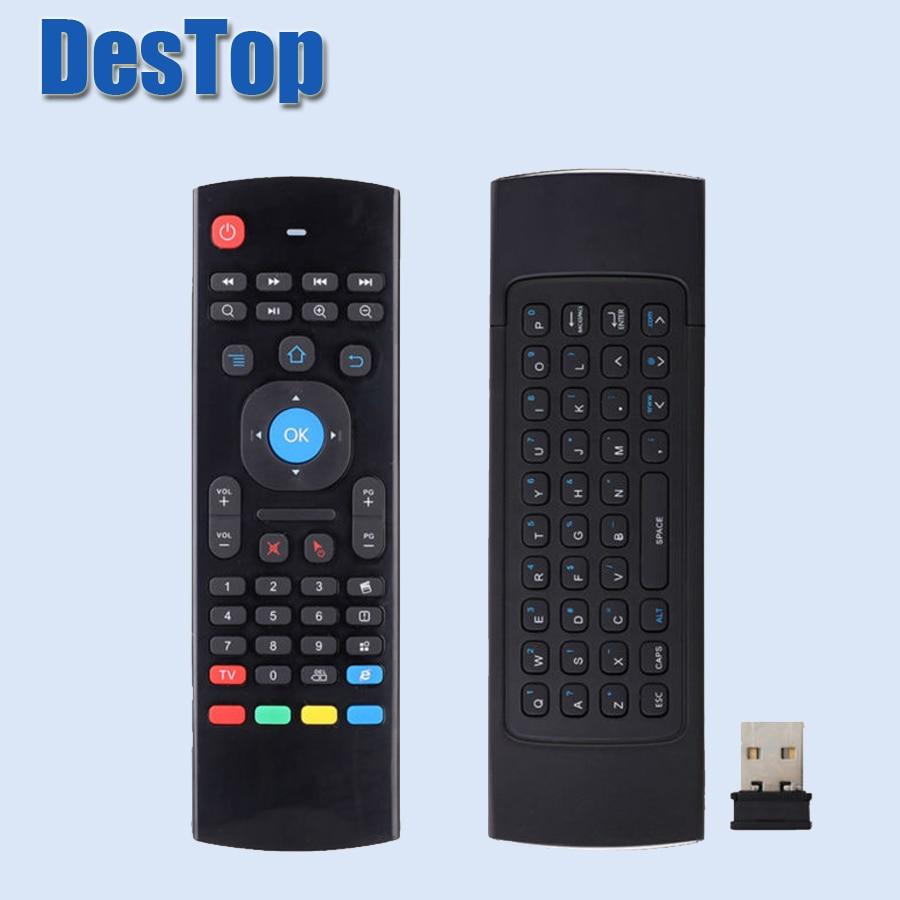 1 Stück Luft Fliegen Maus Fernbedienung Mx Iii Air Maus Wireless 2,4g Fernbedienung Tastatur Für Android Tv Box/mini Pc Einfach Zu Reparieren