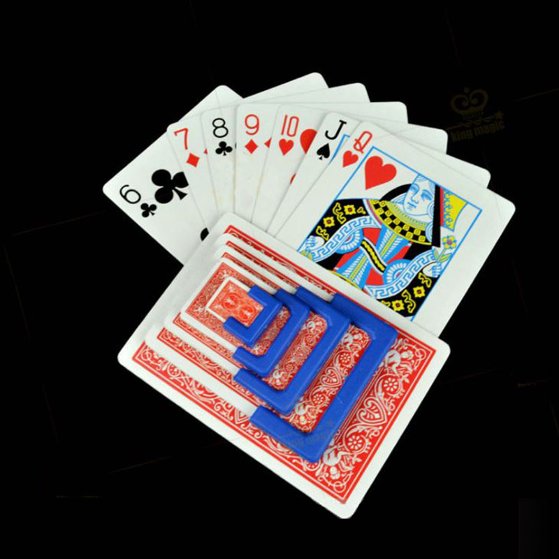 Classic Toys Practical Magic Gimmick Card Magic Tricks Magician Trick Magic Cards Close Up Street Magic Prop Playing Card Tool