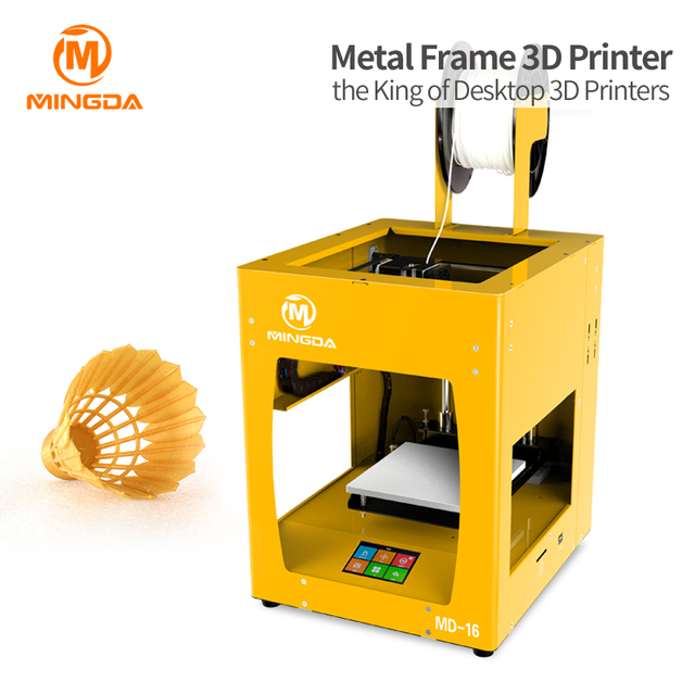 Mingda FDM 3D Printer Extruder Machine Professional 3D Printer 0.1Mm High Precision Impressora 3D Printer For Abs Pla Filaments
